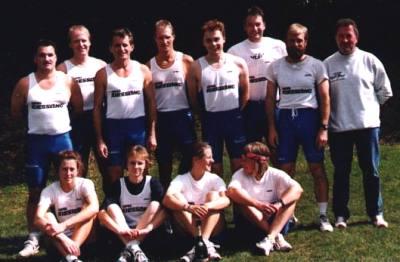 Die erfolgreichen Teilnehmer des WSVO beim ersten Großstaffellauf