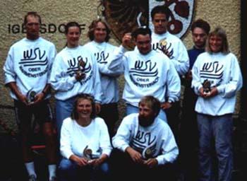 Der Großteil der Aktiven von 1995 bis 1997
